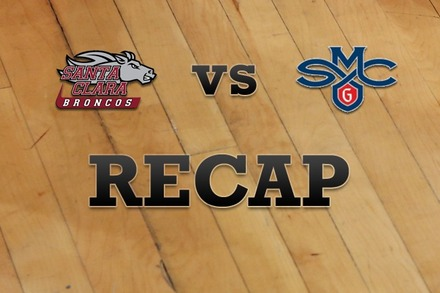 Santa Clara vs. Saint Mary's: Recap, Stats, and Box Score