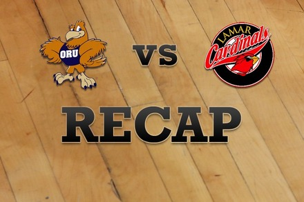 Oral Roberts vs. Lamar: Recap, Stats, and Box Score