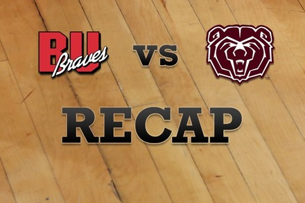 Bradley vs. Missouri State: Recap, Stats, and Box Score