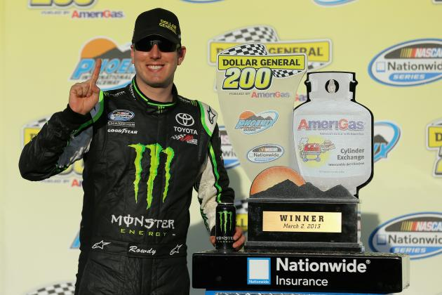 Ky. Busch Dominates to Win Phoenix Again