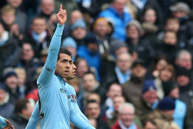 Carlos Tevez Battling to Win Back Manchester City Fans: ESPN FC