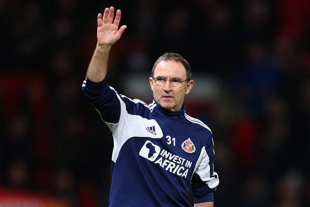 Sunderland Boss Martin O'Neill Wants to Sign Two New Full-Backs This Summer