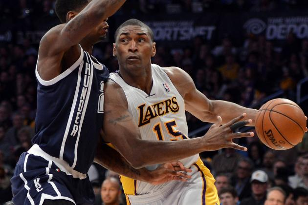 Metta World Peace Says His Style of Play Is Aggressive, but Not Dirty
