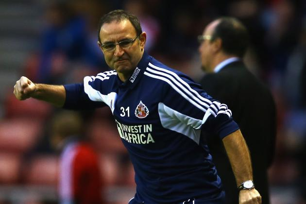 Martin O'Neill Tells His Sunderland Players to Change Your Own Luck