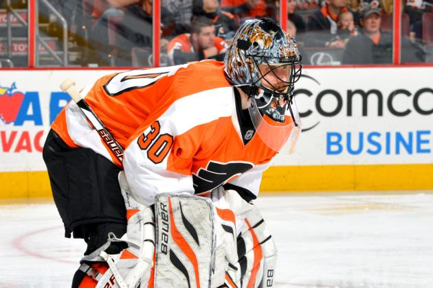 Philadelphia Flyers: Bryzgalov Getting Cozy in Net