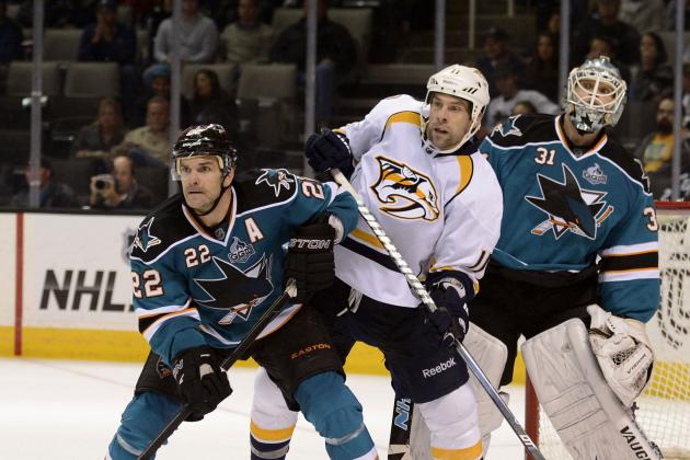 Nashville Predators Fall to San Jose Sharks