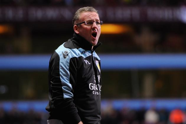 Aston Villa Boss Paul Lambert Says His Side Can Compete Against Manchester City