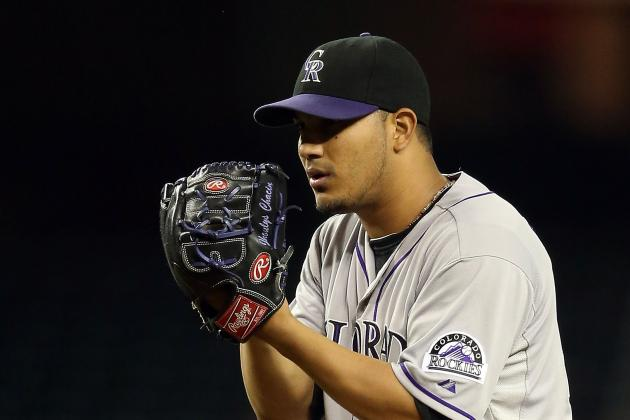 Rockies Right-Hander Jhoulys Chacin Rocked Before Pitching in WBC
