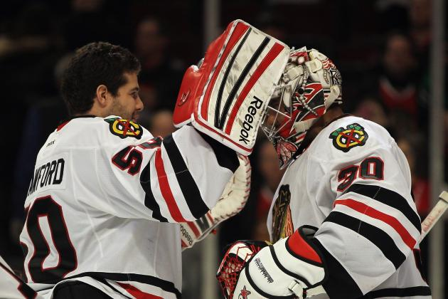 Corey Crawford and Ray Emery Key Component of Chicago Blackhawks' Streak