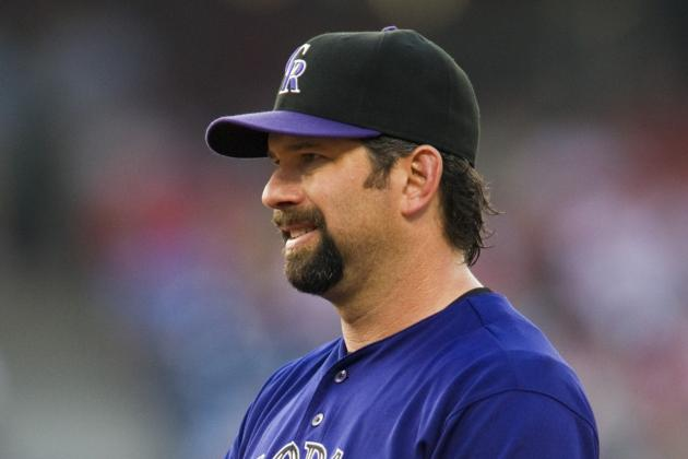 Rockies' Helton Playing for First Time After Hip Surgery, DUI Arrest