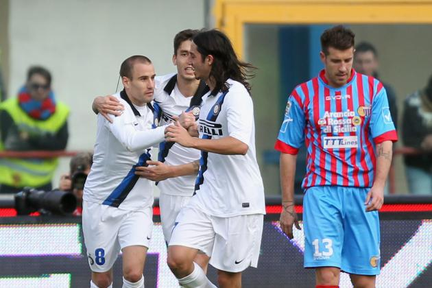Catania 2-3 Inter: Palacio Inspires Incredible Nerazzurri Comeback