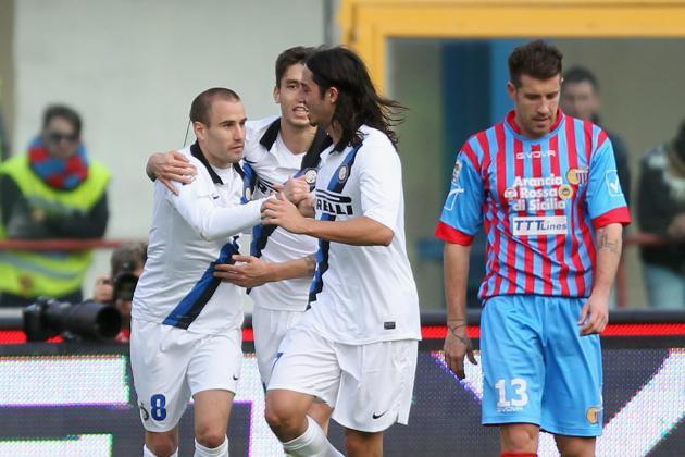 Catania 2-3 Inter: Palacio Inspires Incredible Nerazzurri Comeback