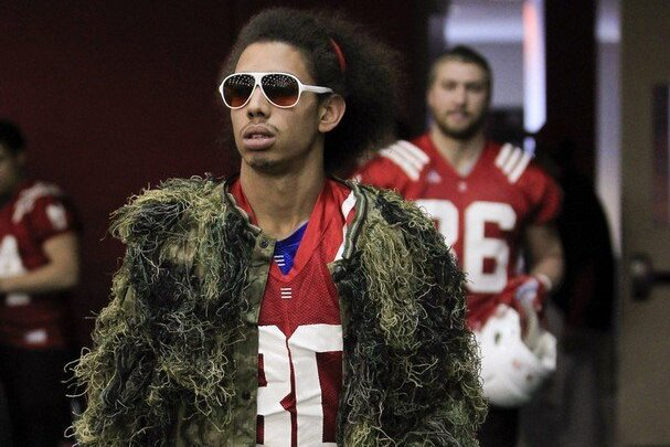 Kenny Bell: Turf Suit at Nebraska Spring Practice (PHOTO)