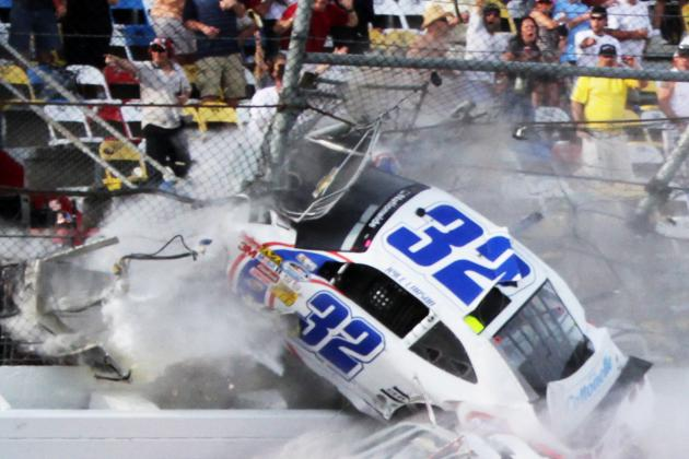 NASCAR Looking at Crossover Gates After Wreck