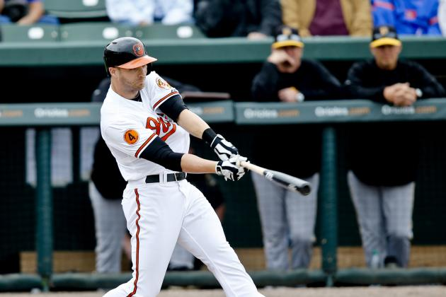 Orioles Outfielder Nolan Reimold's Sore Throwing Shoulder Progressing