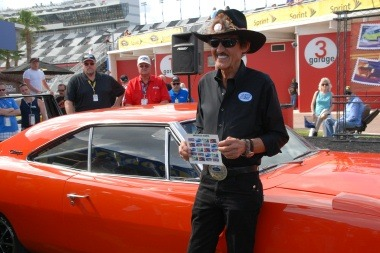 FYI WIRZ: Richard Petty Powers Up Postal Service's Muscle Car Stamps