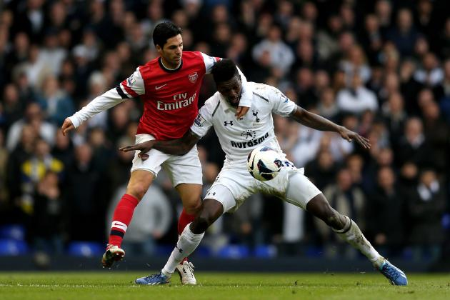 Tottenham 2-1 Arsenal: Rating the Arsenal Players in the North London Derby
