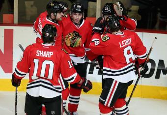 Blackhawks win in a shootout and extend their streak to 22 games!
