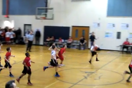 Sixth-Grader Hits Half-Court Buzzer-Beater