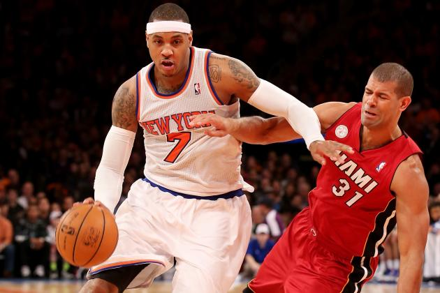 James and Heat Rally Past Knicks for 14th Straight Win