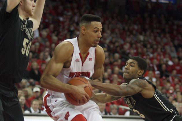 D.J. Byrd Scores 22 Points to Help Purdue Upset No. 17 Wisconsin