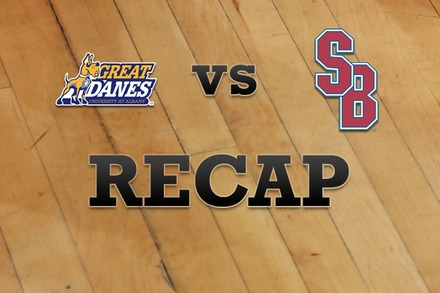 Albany vs. Stony Brook: Recap, Stats, and Box Score