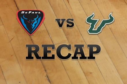 DePaul vs. South Florida: Recap, Stats, and Box Score