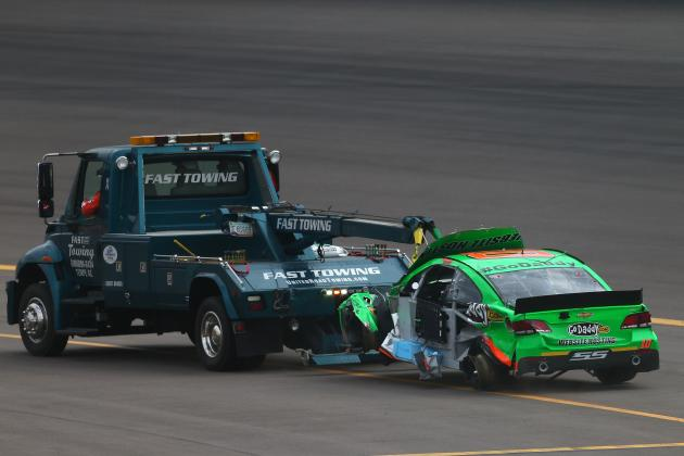 Danica Patrick Wrecks out at Phoenix