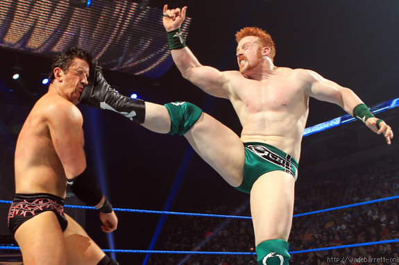 Sheamus vs. Wade Barrett Is a Feud That Should Not Happen