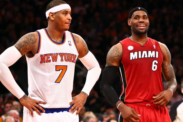Melo: 'We Don't Compare Ourselves to Miami'