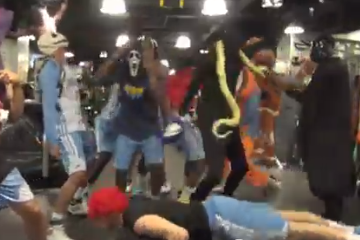 "Another Day. Another ""Harlem Shake"" Video; Denver Nuggets Style"