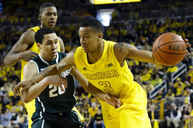 Michigan Basketball: Wolverines Still on Track for No. 1 Seed with Win over MSU