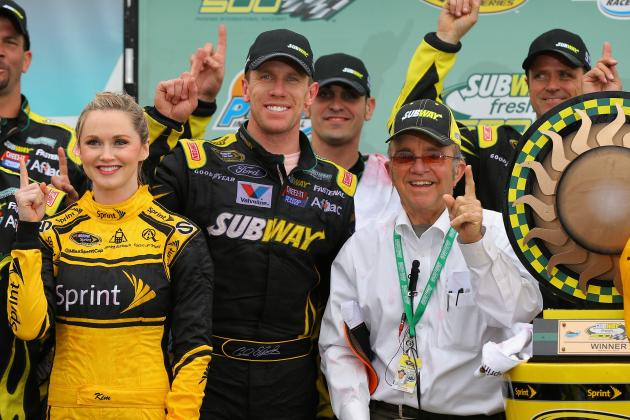 Carl Edwards Snaps 70-Race Winless Streak