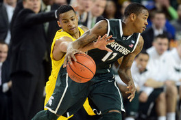 Michigan's Trey Burke Knew Keith Appling's Move on Final Steal