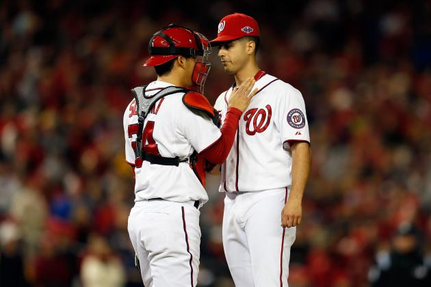 Kurt Suzuki Is Nationals' 'captain of the Rotation'
