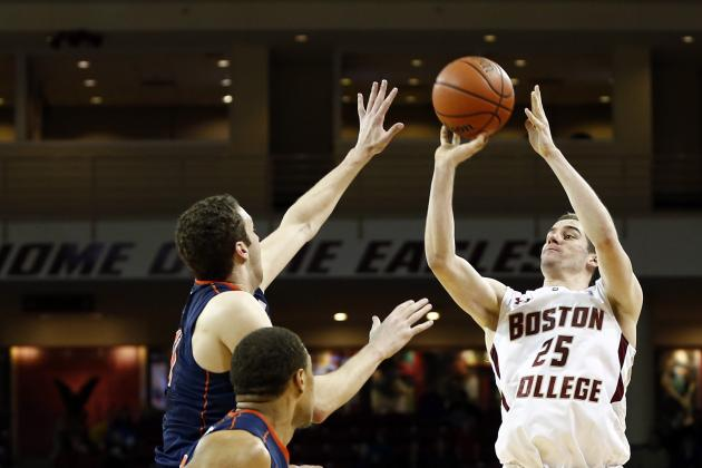 Boston College Gets Late 3-Pointer to Stun Virginia