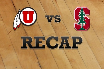Utah vs. Stanford: Recap, Stats, and Box Score
