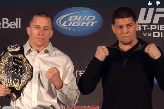"UFC ""Quick Break:"" St. Pierre vs. Diaz"
