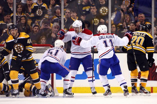 Habs Knock off Bruins, Secure Top Spot in East