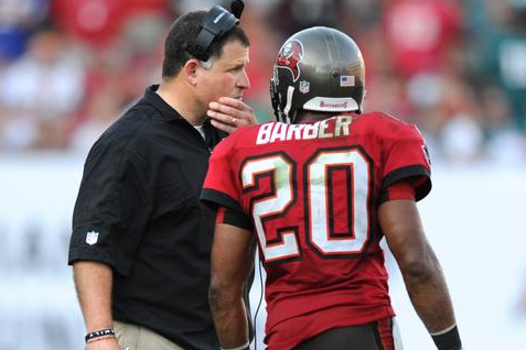 Barber, Tampa Bay Buccaneers Have Plenty to Discuss