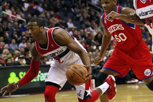 Wall Makes Difference for Wizards Against Sixers
