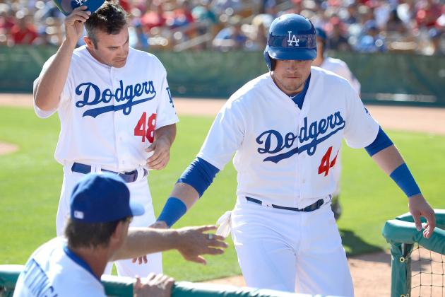 Dodgers Reassign Four Players to Minor League Camp