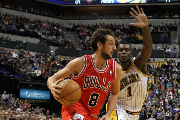David West, Pacers Outlast Injury-Riddled Bulls 97-92