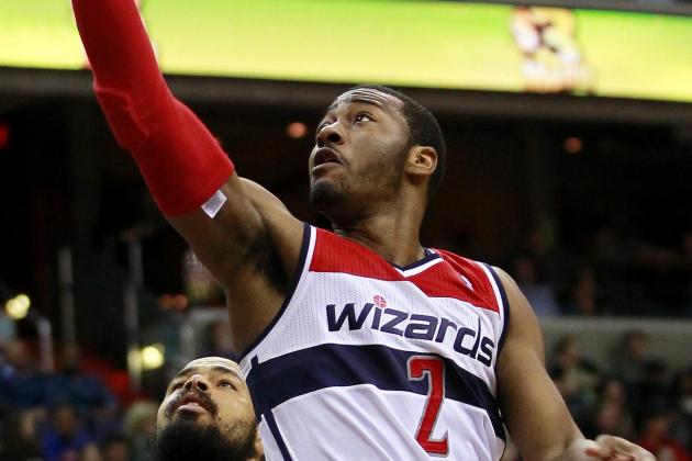 John Wall Makes Incredible 360 Lay-Up Against 76ers