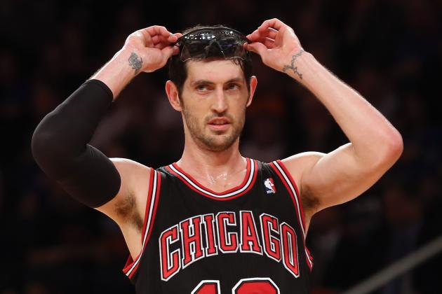 Kirk Hinrich Sits out Bulls' Game vs. Pacers with Sore Foot