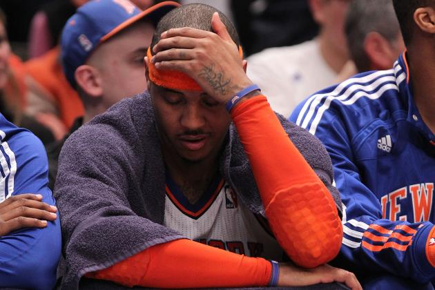 Carmelo Anthony Destined To Be Yet Another Ringless NBA Star