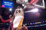 Video: Kobe Posterizes Josh Smith with Emphatic Jam