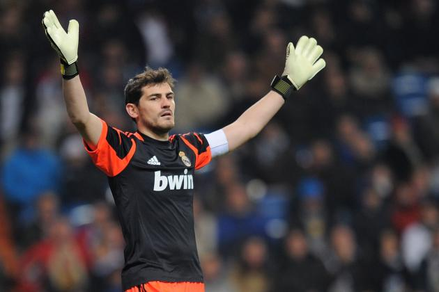 Real Madrid Captain Iker Casillas Is in the Squad to Face Manchester United