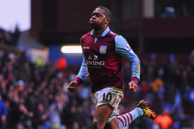 Aston Villas Charles N'Zogbia Says Hard Work Is Behind Upturn in Form