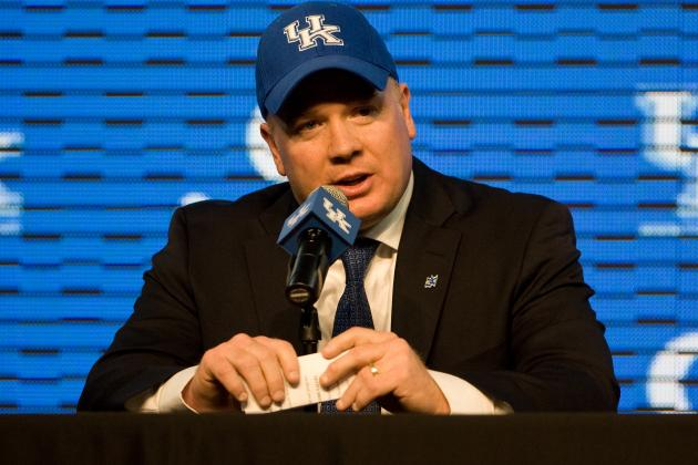 Mark Stoops Is Already Making an Impact on Kentucky Football